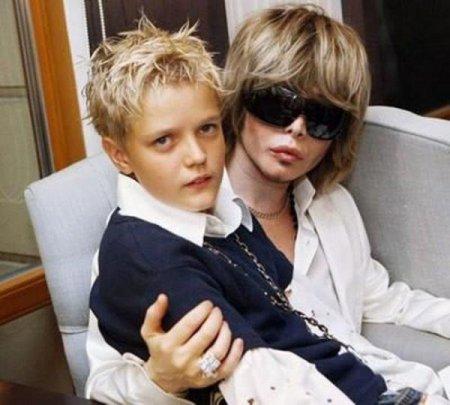Дети знаменитостей России