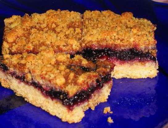 пирог с вареньем на скорую руку видео рецепт