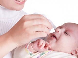 Насморк у новорожденного 1 месяц фото