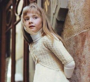 Вязаное болеро для девочки фото