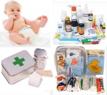 Аптечка для новорожденного состав фото