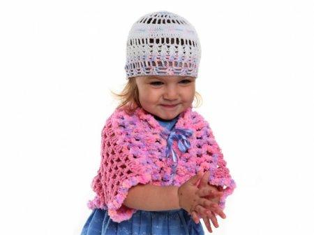 Вязание болеро для девочек: фото
