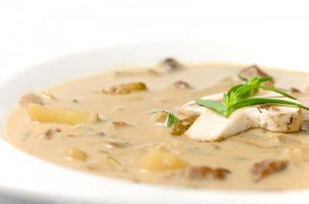 фото крем суп из шампиньонов