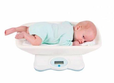 нормы веса ребенка фото