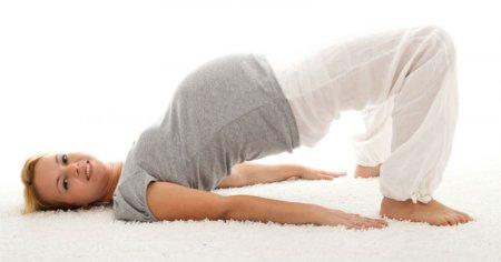 Упрожнение от  боли в пояснице при беременности