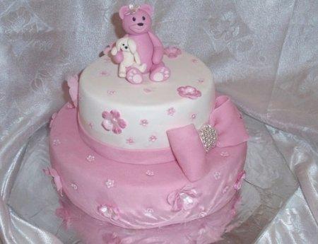 Как испечь торт с мастикой фото