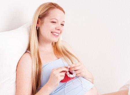 Вязание для беременных спицами фото