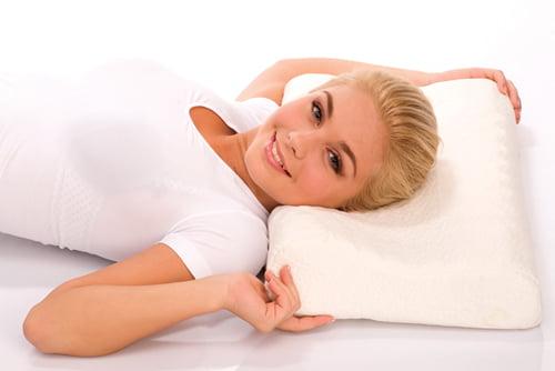 на какой подушке лучше спать при шейном остеохондрозе