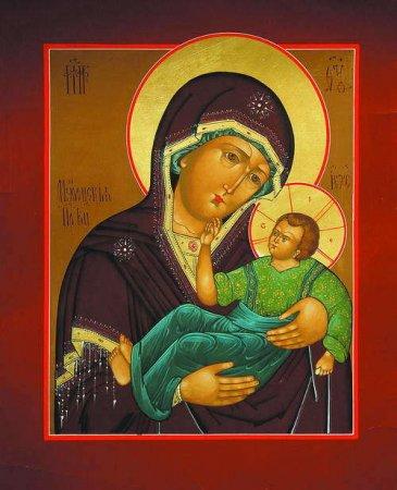 икона Божьей Матери фото