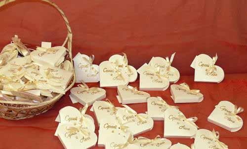 Бонбоньерки на свадьбу шаблоны