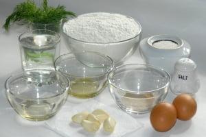 ингредиенты для приготовления пампушек фото