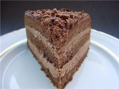 «Пражский» торт фото