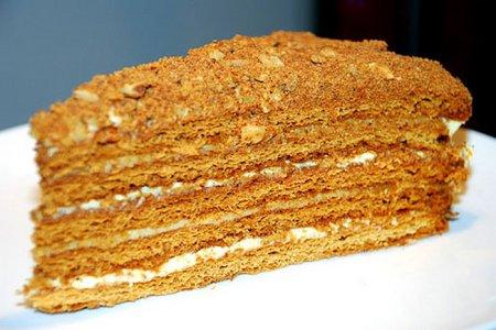 Торт «Рыжик»  фото