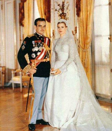 Грейс Келли  свадебном платье фото