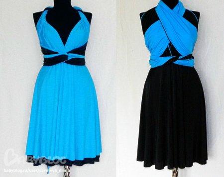 Платье-трансформер – выкройка фото