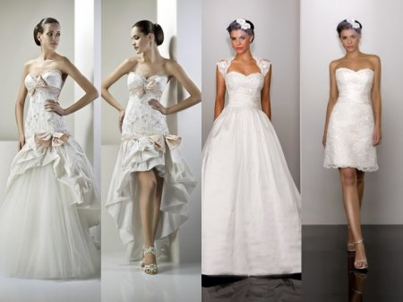 Свадебное платье-трансформер – фото
