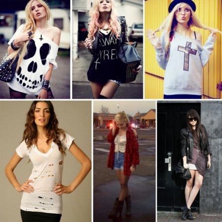 Стиль гранж – фото, описание и главные особенности. Какая одежда подходит под стиль гранж?