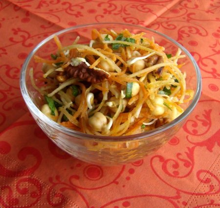 салат с топинамбуром фото