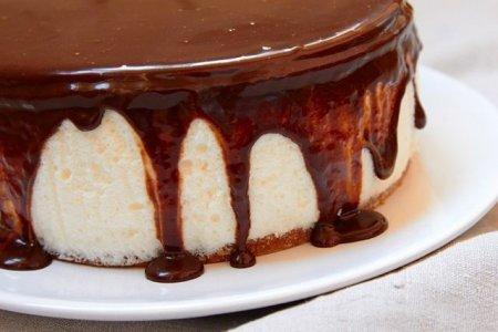 торт суфле птичье молоко фото
