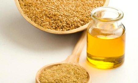 Льняное масло для похудения фото
