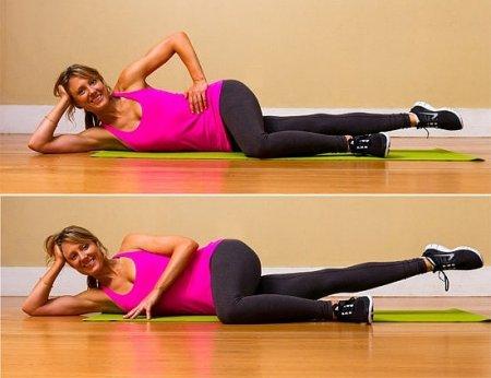 Упражнения, чтобы похудели ноги фото