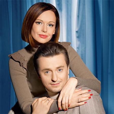 Актер Сергей Безруков с женой фото