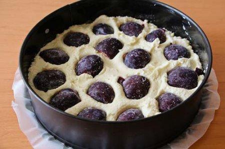 Пирог со сливой от Высоцкой фото