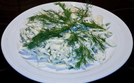салат с брынзай фото