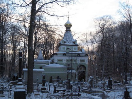 Часовня Ксении Петербуржской фото