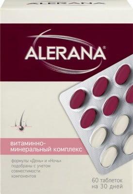 Витамины Алерана для волос фото