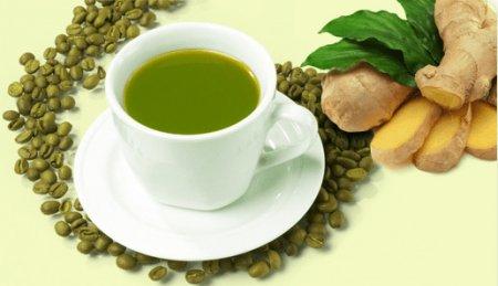 Зеленый кофе с имбирем для похудения фото