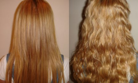 Завивка волос карвинг фото