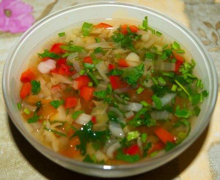 Сельдереевый суп для похудения фото
