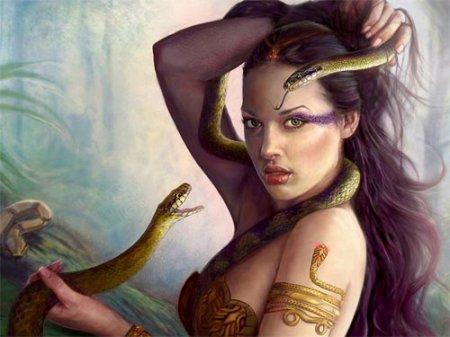 Змееносец женщина фото