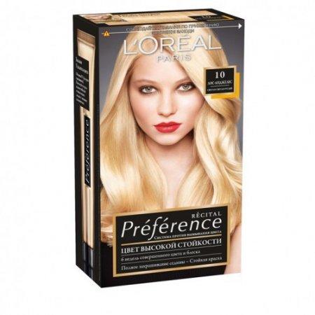 Краска для волос Лореаль Преферанс – отзывы фото