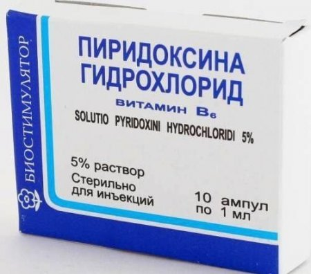 Пиридоксин – инструкция по применению фото