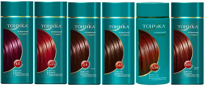 шампунь краска для волос