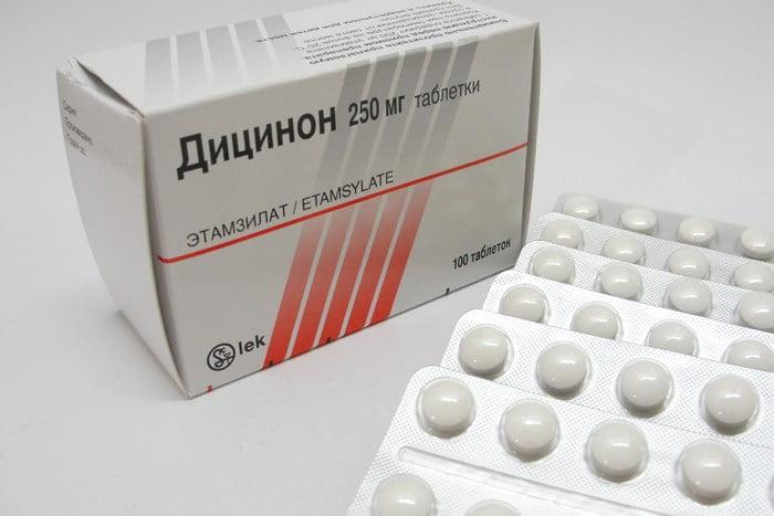 Дицинон таблетки инструкция