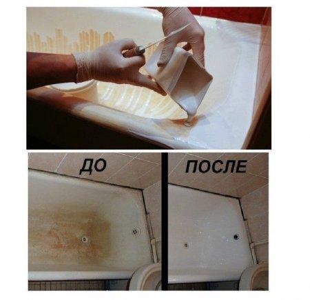 Чем отмыть ржавчину в ванной фото