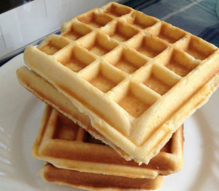 вафли фото рецепт для вафельницы