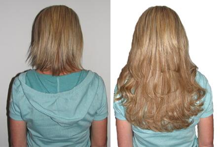 Почему стоит выбрать ленточное наращивание волос фото