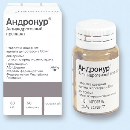 Андрокур – инструкции по применению, показания и побочные явления.