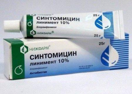 Мазь синтомициновая – инструкция по применению, полезные свойства, принцип действия.
