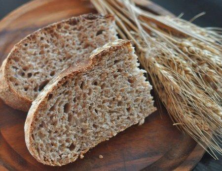 хлеб с отрубями темный черный
