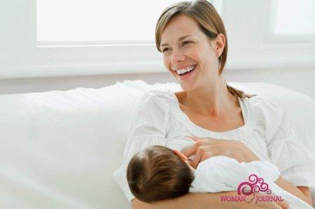 кормящая мать ребенок грудное вскармливание