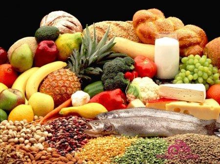 Продукты питания во время грудного кормления