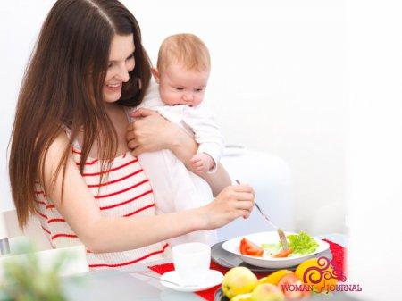 Правильное питания для кормящей матери