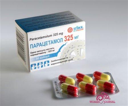 Стоит ли употреблять парацетамол при кормлении грудью?