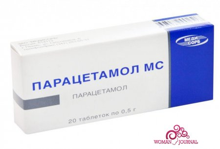 Таблетки Парацетомол