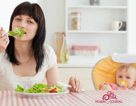 Употребление листьев салата при грудном вскармливании